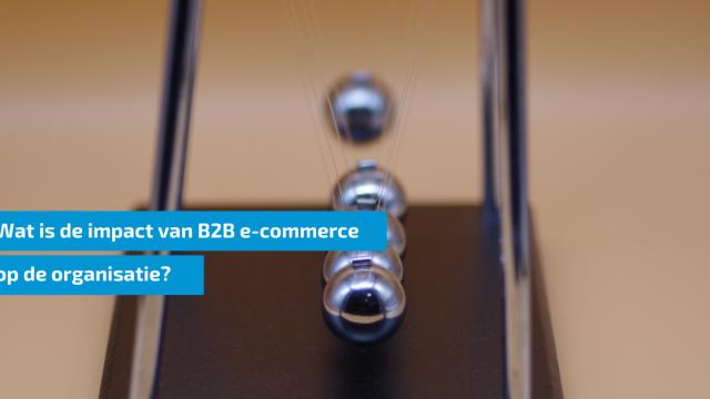 Wat is de impact van B2B e-commerce op de organisatie?