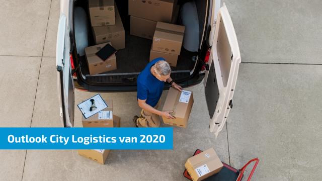 Topsector Logistiek blikt vooruit naar stadslogistiek in 2030