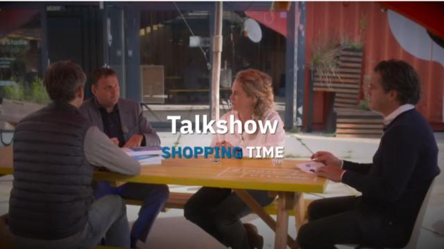 Talkshow Shopping Time