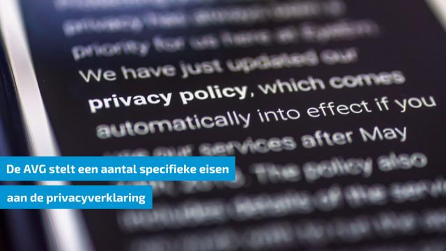 Voldoet je privacyverklaring aan de gestelde eisen?