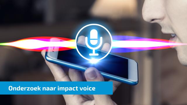 Opkomst voice heeft meer invloed dan ontstaan webwinkels