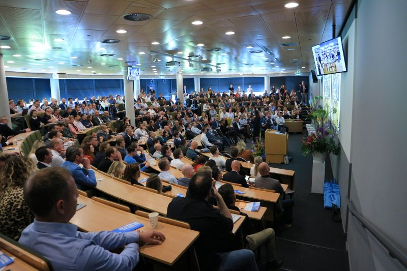 Foto van de keynote zaal tijdens de Kick-Off van ShoppingTomorrow