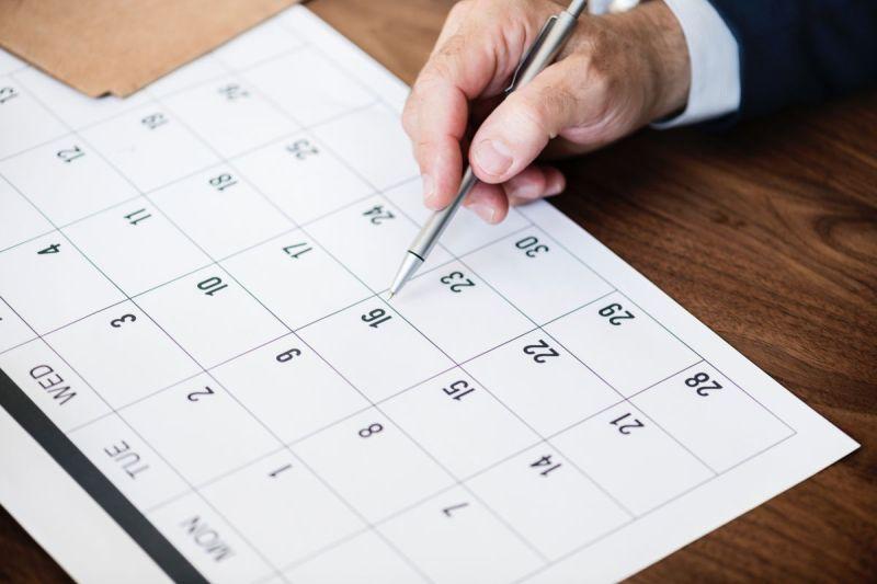 Pen en maandplanning
