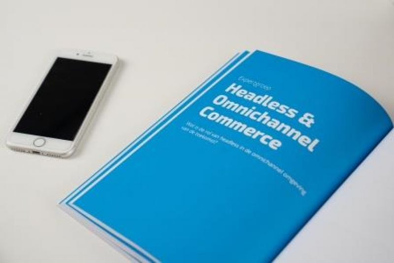 ShoppingTomorrow boek, hoofdstuk Headless & Omnichannel Commerce