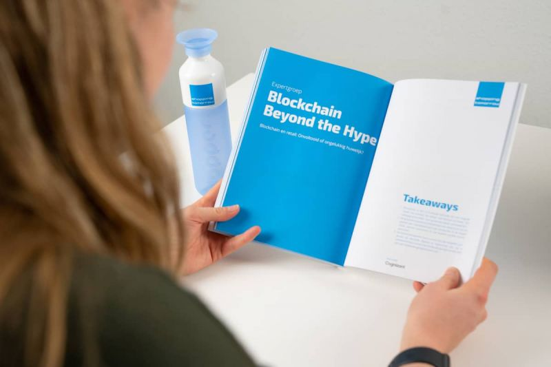 ShoppingTomorrow boek, hoofdstuk Blockchain Beyond the Hype
