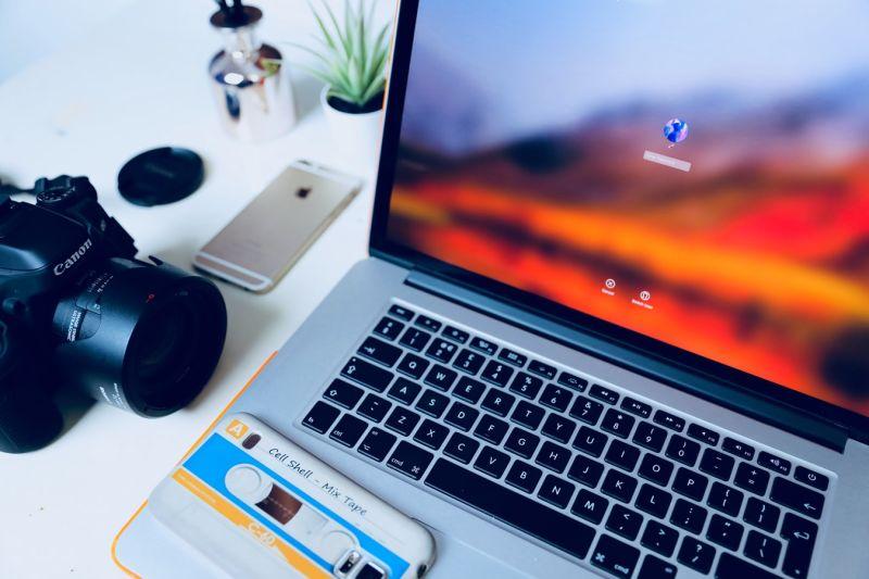 inlogscherm op laptop