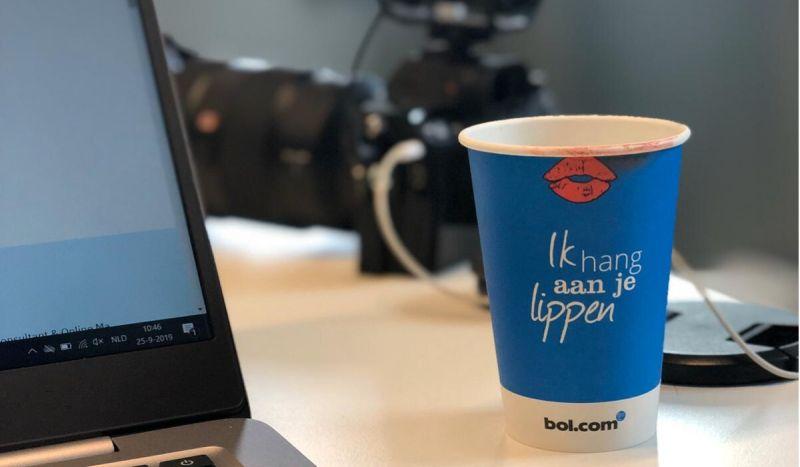 Laptop een koffiebekertje van bol.com