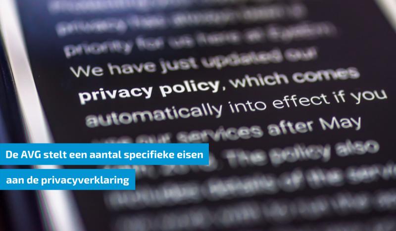 avg-privacyverklaring-eisen