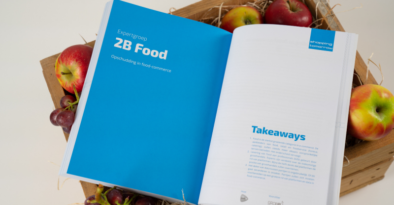 ShoppingTomorrow boek, hoofdstuk 2B Food